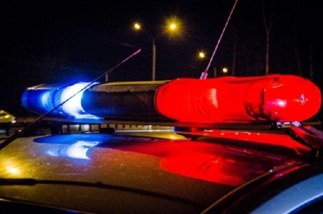 Инспекторы ДПС в ночное время остановили автомобиль «Lada».