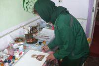 Быт в женской колонии разнообразен, заключенные могут попробовать себя и в творчестве.