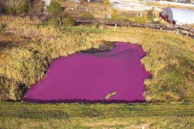 Водоем находится в промышленной зоне Ставрополя.