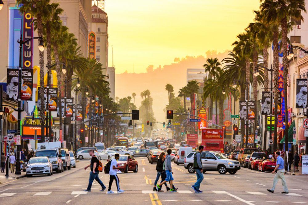 3 место. Лос-Анджелес, США