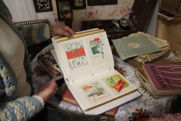 А это - советские открытки.