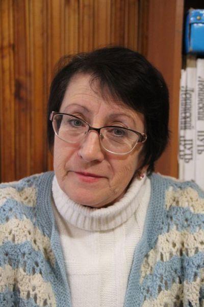 Создатель и руководитель музея Вера Петровна Фомина.