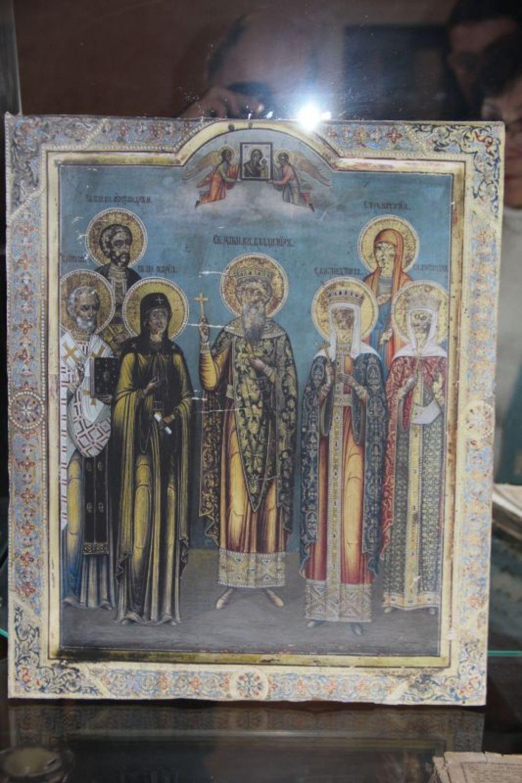 Копия фамильной иконы Поливановых.