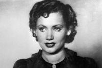 Лидия Смирнова в роли Шурочки в кинофильме «Моя любовь». 1940 год.