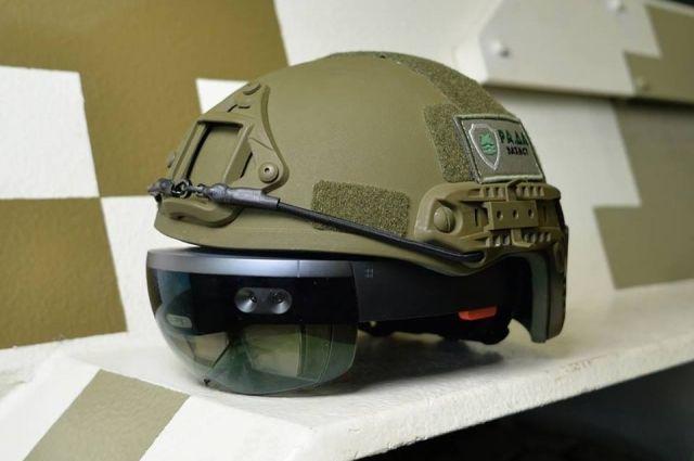 ВУкраине появится «виртуальный» шлем для военных