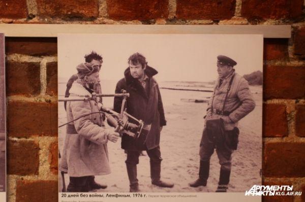 «Двадцать дней без войны» — советский художественный фильм 1976 года режиссёра Алексея Германа по сценарию Константина Симонова.