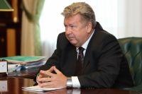 Андрей Важенин на приёме у губернатора Челябинской области.