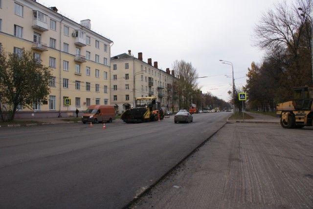 Работы поремонту проспекта Ленина вЯрославле заканчиваются