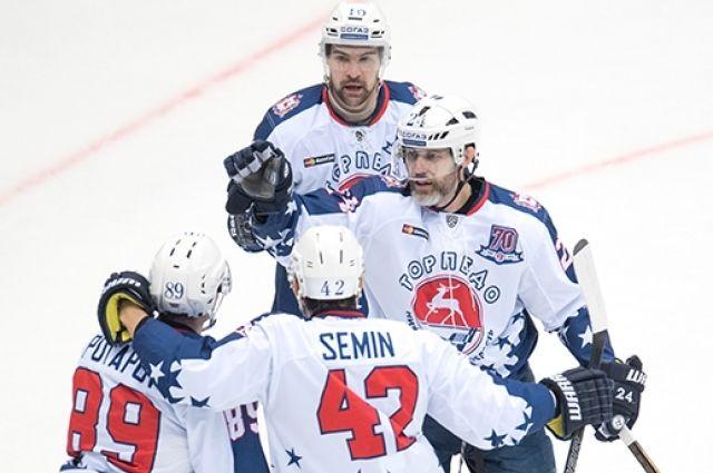 Хоккеисты «Торпедо» вгостях обыграли «Сочи» срезультатом 2:1