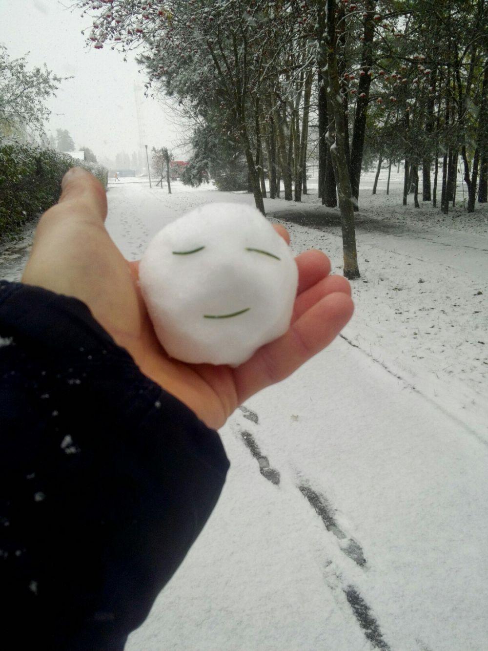 Кто хочет поиграть в снежки - приезжайте в Славутич!