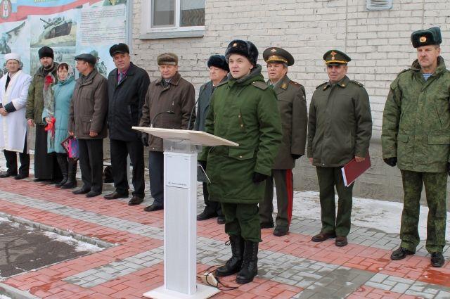 94 омича отправились на службу в Вооружённые Силы РФ.