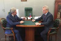 Встреча Иван Белозерцева и Дмитрия Иванова носила позитивный характер.