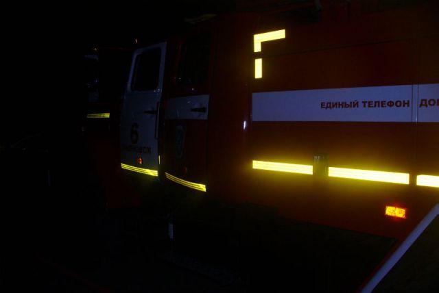 Ульяновские пожарные спасли изгорящей пятиэтажки 28 человек