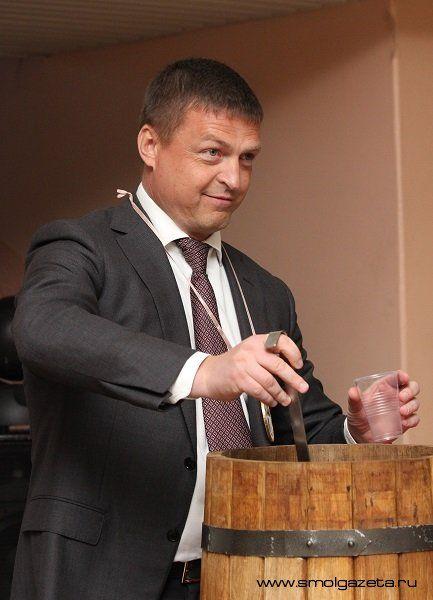 Мэр на праздновании Дня студента в Смоленском государственном медицинском университете.