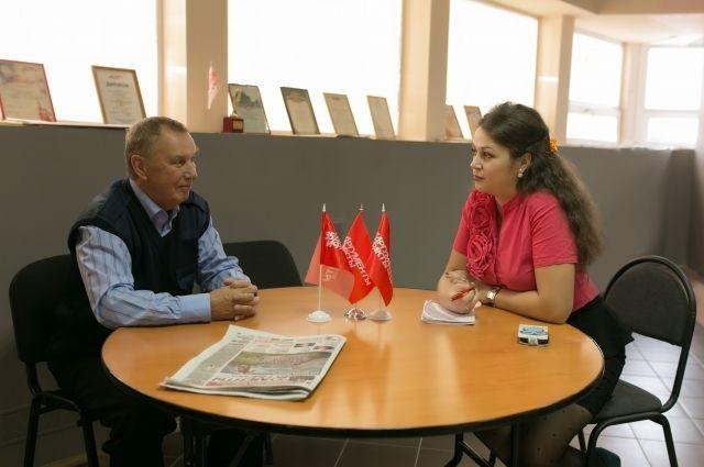 Анатолий Сергин более 30 лет с любимой газетой
