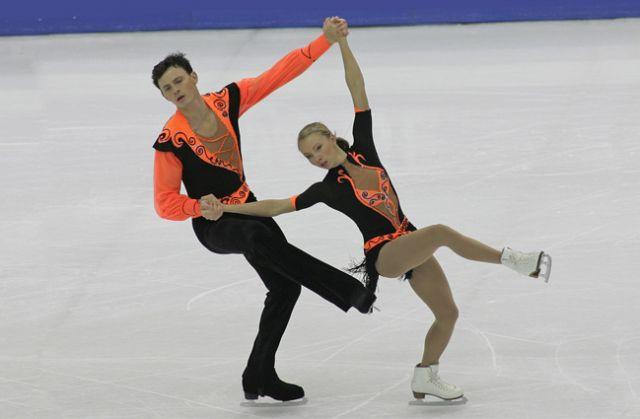Максим Маринин и Татьяна Тотьмянина.