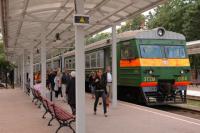 Пригородные поезда на Калининградской железной дороге меняют расписание.