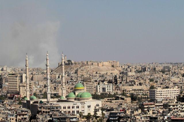 В милиции Алеппо подтвердили обстрел школы террористами назападе города