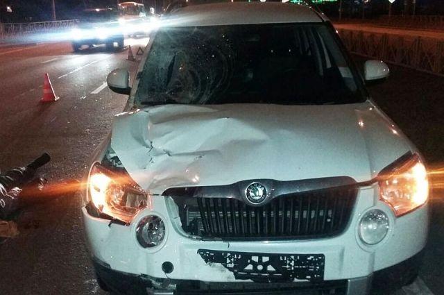 Напроспекте Кулакова вСтаврополе «Шкода» насмерть сбила пешехода