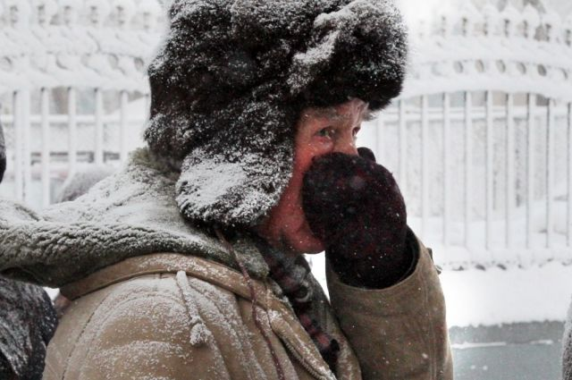 В выходные морозы окрепнут