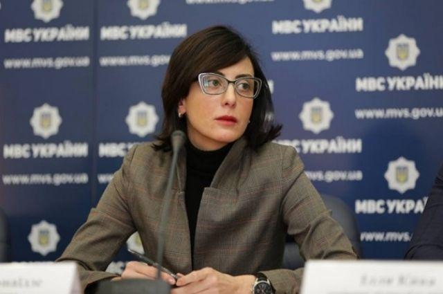 Деканоидзе задекларировала 3,5 млн грн заработной платы