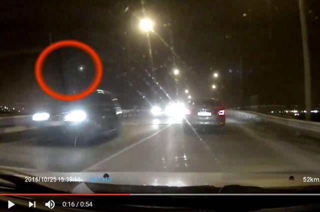Летящий объект был виден в Бурятии и Иркутской области.