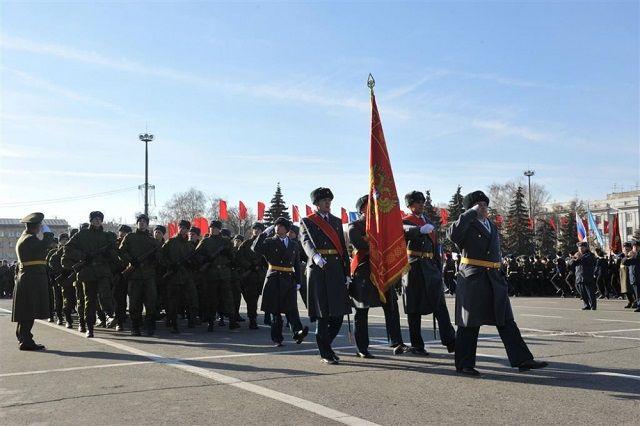 Пензенские школьники пройдут парадом поСамаре