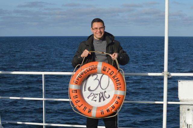 Павел Петкилёв занялся изучением одного из самых неизведанных океанов.