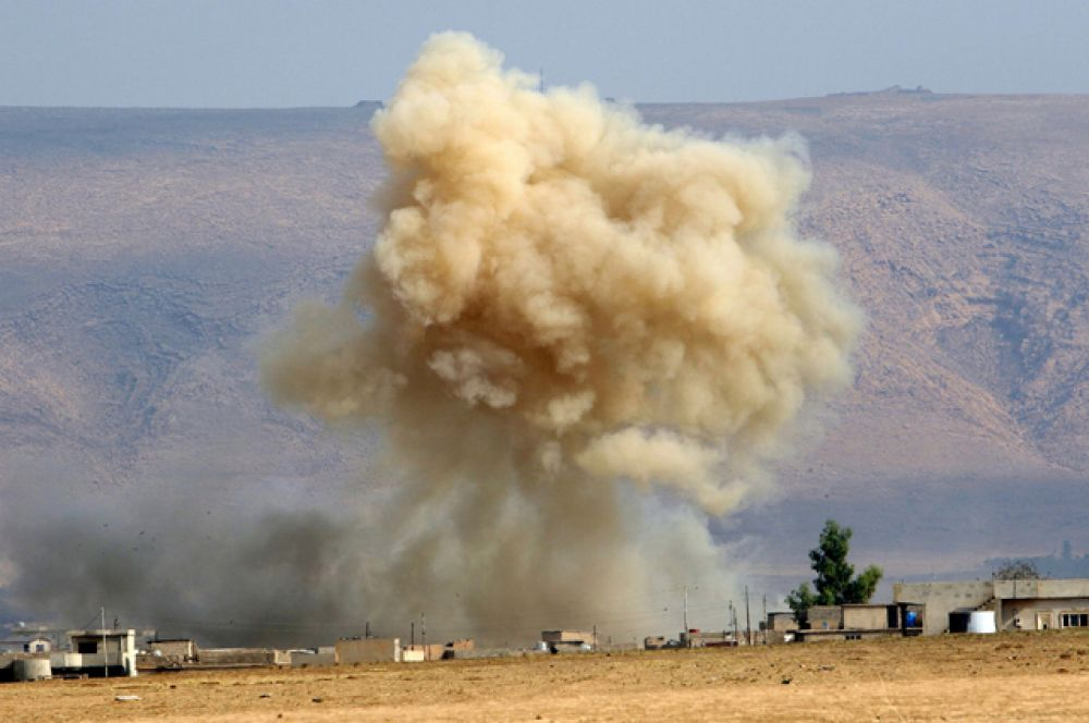 Спустя несколько часов после телевизионного обращения аль-Абади на государственном телевидении начались столкновения.