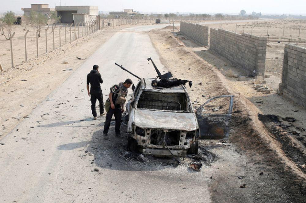 Президент Иракского Курдистана Масуд Барзани заявил, что в первый день боев Пешмерга и вооруженные силы Ирака отбили у ИГИЛ 200 квадратных километров.