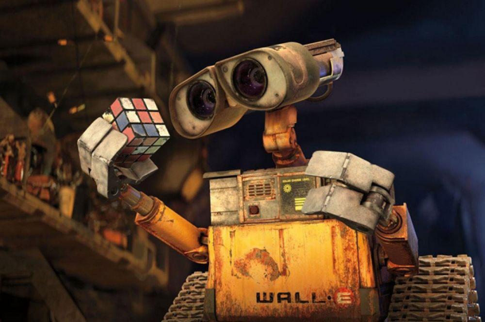 2 место. «ВАЛЛ•И» (2008). Невероятно трогательный мультфильм о роботе ВАЛЛ•И, который из года в год прилежно трудится на опустевшей Земле, очищая планету от мусора, который оставили после себя улетевшие в космос люди. Он и не представляет, что совсем скоро произойдут невероятные события, благодаря которым он встретит друзей и поднимется к звездам.