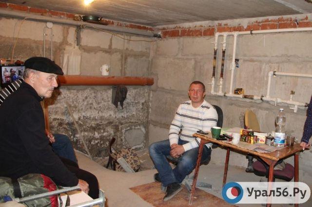 Голодовка в подвале построенного дома.