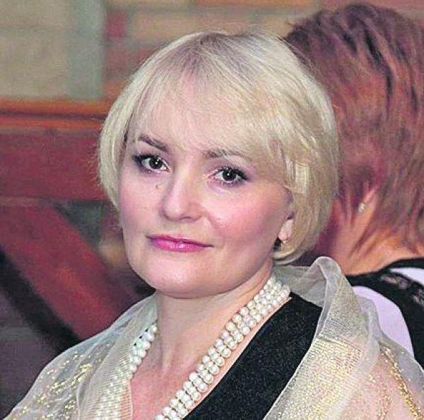 Жена министра обороны Украины - Инна Полторак