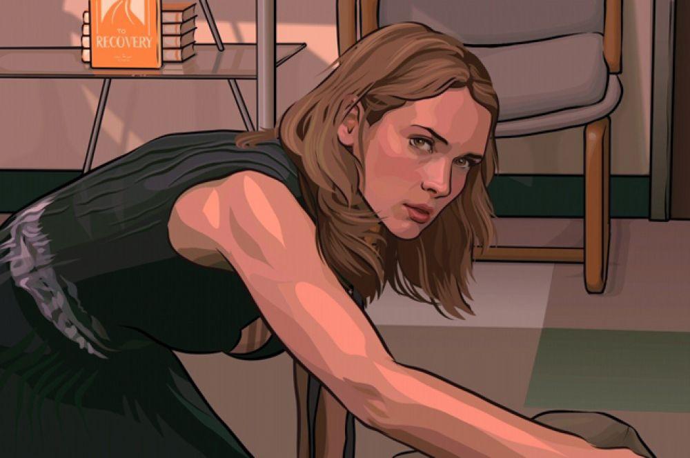 В 2006-м последовала роль в картине по мотивам романа Филипа К. Дика «Помутнение».