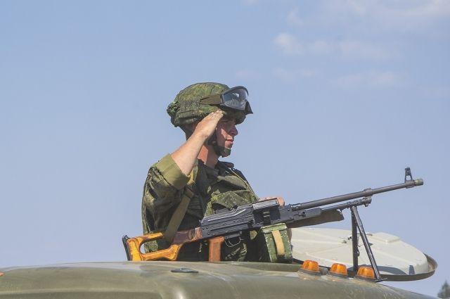 Военные учения проходили в Алтайском крае