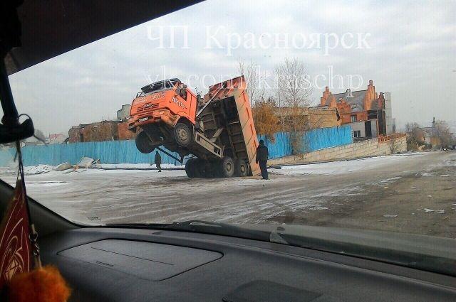 Инцидент произошёл в районе часовни в Красноярске.