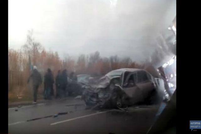 Ужасное ДТП вЧувашии: двое погибли, четверо ранены