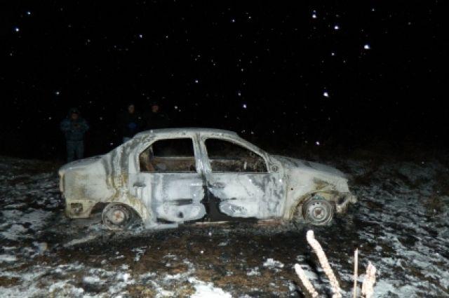 Всгоревшем «Рено» найден труп