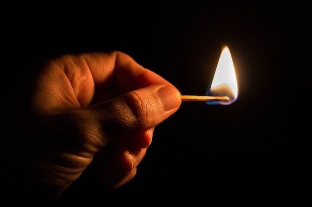 Вселе Октябрьском: хозяев убил, квартиру поджог