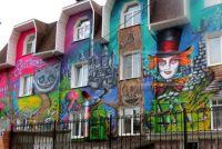 Московская компания изъявила желание бесплатно украсить два жилых многоэтажных дома в Пензе.