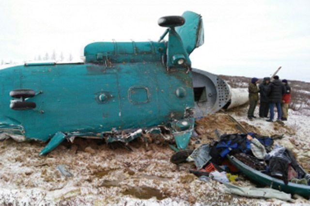 Ямал начал оплачивать материальную помощь родственникам погибших при крушении Ми-8