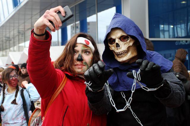 В Новосибирске отметили Хэллоуин