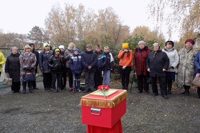 Церемония пройдет на кладбище станции Тутальская.