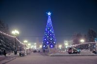 Главную елку в Иркутске начнут устанавливать в декабре.