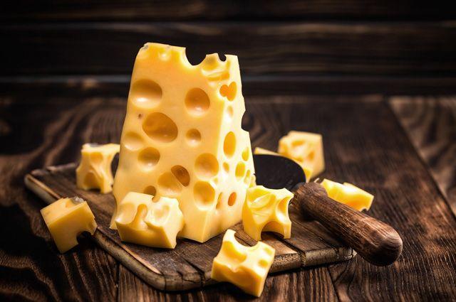 Сыр из будущего мужчина купил в супермаркете в городке Нефтяников