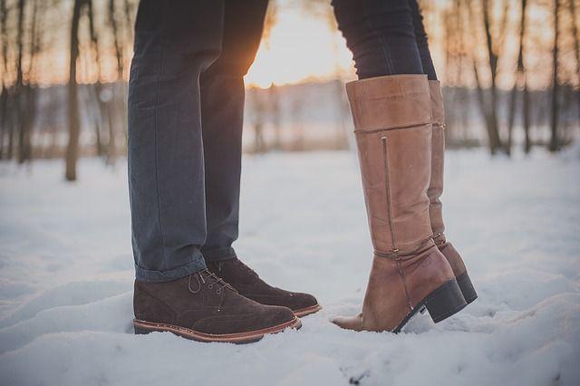 Обувь должна быть и тёплой, и красивой.
