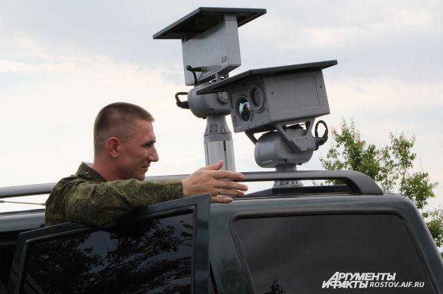 Задержать контрабандистов пограничникам помогли современные приборы наблюдения.