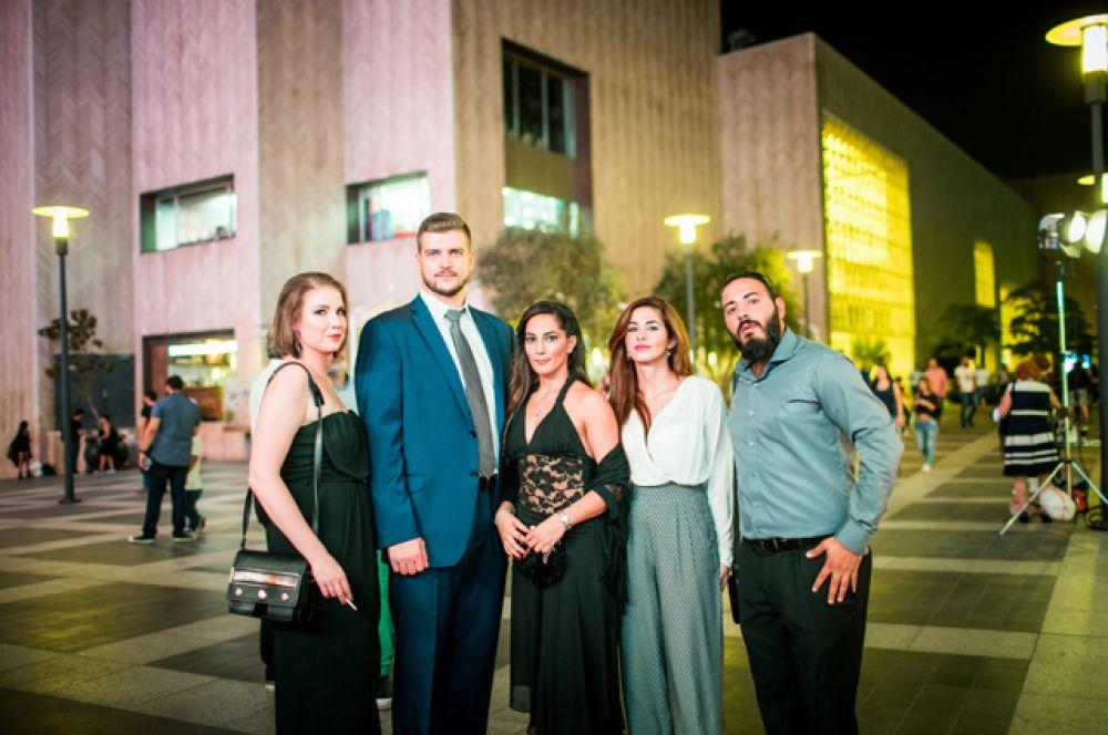 Гости первого фестиваля российского кино в Бейруте.