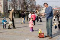 Уличный театр - сказка для детей и взрослых.