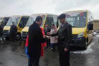 До конца ноября в школы региона поступят еще 30 автобусов на базе ПАЗ.